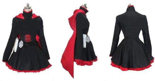 Ruby Rose Rwby Dress Rwby Red Trailer Ruby Rose