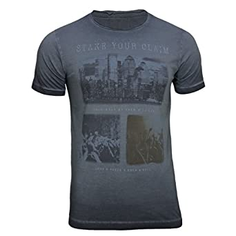 Jack & Jones Mens T-Shirt (S, Phantom 001)