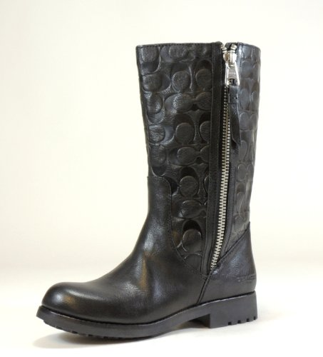 coach s boot black 9 combat boots