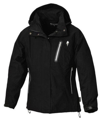 Pinewood Anja Women's Waterproof  &  Windproof Jacket - Black, XX-Large