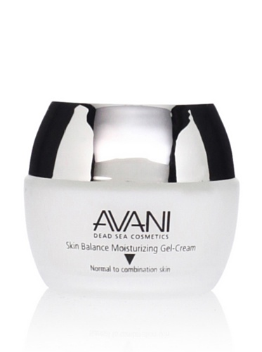 Avani Dead Sea Skin Balance Moisturizing Gel-Cream - For Normal to Combination Skin
