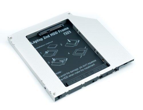 qumox-caddy-adaptador-de-disco-duro-universal-para-portatil-serial-ata-25-color-negro-y-plateado