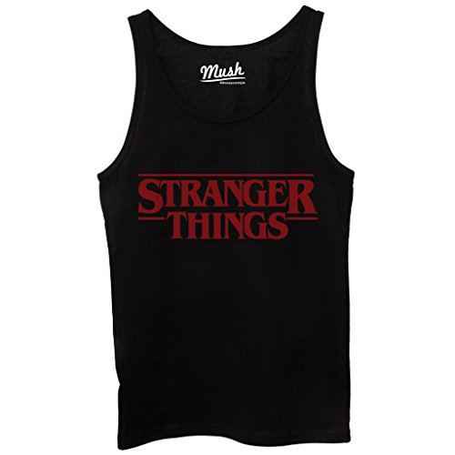 Canotta STRANGER THINGS - FILM by Mush Dress Your Style - Donna-M-Nera