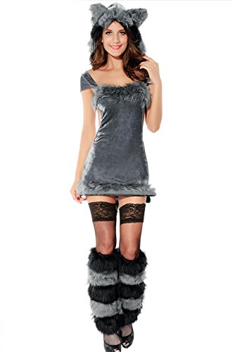 Bunny Lingerie Sexy Halloween Costume Winter Bear Cosplay Costume Stage Outfit