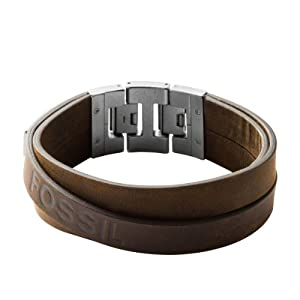 FOSSIL Herrenschmuckarmband Edelstahl 18,5 cm inkl. 1,5 cm Verlängerung JF84955040