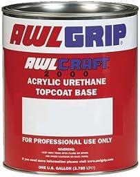 Awlgrip Awlcraft 2000 Acrylic Urethane Top Coat Quart, Stark White F8155Q