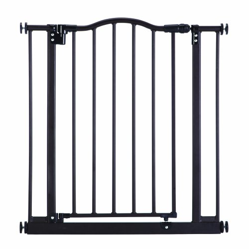 North States Industries Supergate Portico Arch Gate, Matte Bronze