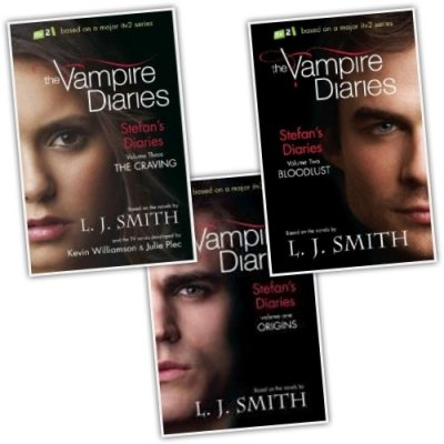 L J Smith Stefan's Diaries The Vampire Diaries 3 Books Collection Pack (ITV2 Series) (The Craving, Origins, Bloodlust) PDF