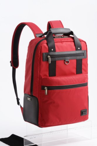 B006P7RGOK Zero Halliburton ZAG Deluxe Backpack, Red, One Size