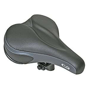 "CLOUD-9 Comfort Gel Men's Saddle, 11"" x 7.75"""