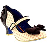 Womens Poetic Licence Miss Thing Mid Heels Strappy Party Court Shoes