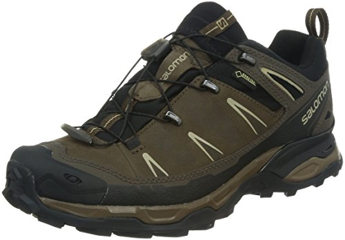 Salomon X Ultra LTR GTX Scarpe da Arrampicata Basse Uomo, Marrone (Absolute Brown-X/Black/Navajo), 42 2/3 EU