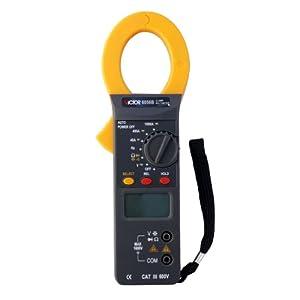 VICTOR 6056B Multimètre numérique Pince multimètre portable Auto Gamme voltmètre ampèremètre ohmmètre Testeur Mesureur électrique de grand écran LCD