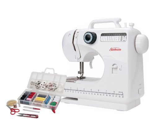 Sunbeam Sb1818 Compact Sewing Machine And Sewing Kit front-637629