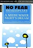 A Midsummer Night's Dream (No Fear Shakespeare) (1586638483) by SparkNotes Editors