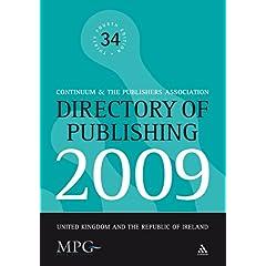 【クリックでお店のこの商品のページへ】Directory of Publishing 2009: United Kingdom and the Republic of Ireland [ペーパーバック]