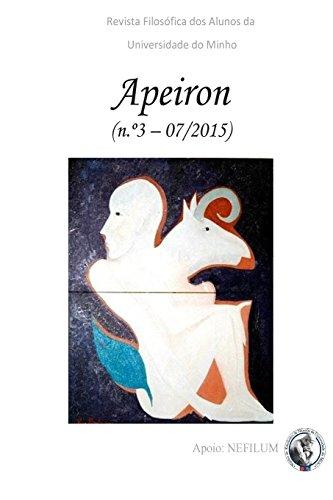 APEIRON - Revista Filosófica dos Alunos da Universidade do Minho: Nº 3 - Filosofia Medieval: Volume 3