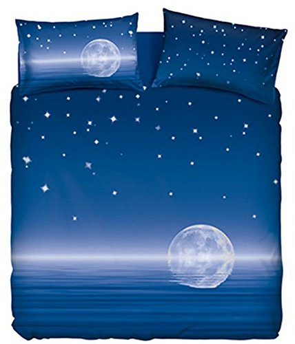 Completo Letto Copriletto Magic Moon Matrimoniale