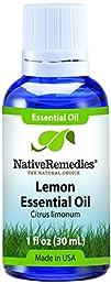 Native Remedies Lemon Peel Essential Oil