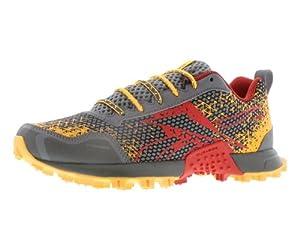 Reebok Women's Wild Trail Running Shoe,Flat Grey/Techy Red/Neon Orange/Ironstone,11 M US