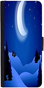 Snoogg Bright Night Designer Protective Phone Flip Case Cover For Htc Desire 526G Plus
