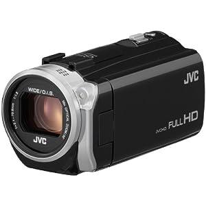JVCKENWOOD JVC ビデオカメラ EVERIO 内蔵メモリー16GB ブラック GZ-E745-B