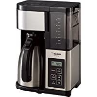 Zojirushi EC-YSC100 Fresh Brew Plus Thermal Carafe Coffee Maker, 10 Cup (Stainless Steel/Black)