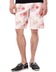 North Coast Pure Cotton Vintage Floral Shorts [T17-2249N-S]