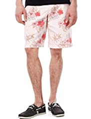 North Coast Pure Cotton Vintage Floral Shorts