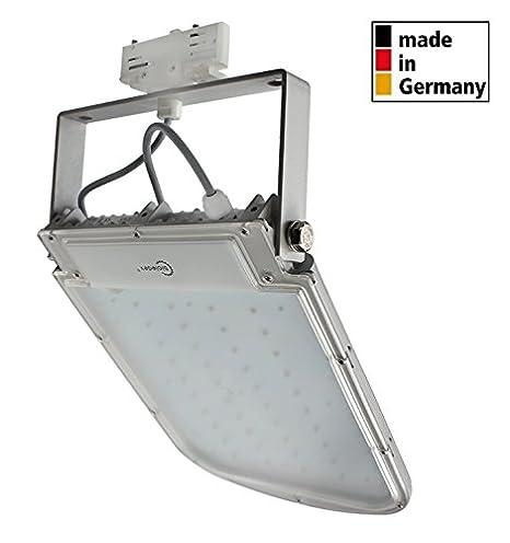 BIOLEDEX 3 phases aSTIR projecteur lED 50 w 4200Lm 70° gris 5200 k