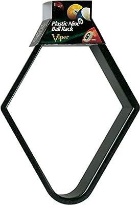 Viper Billiard Ball Rack, Plastic 9 Ball