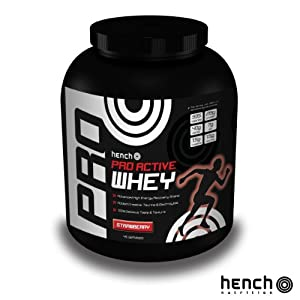 2.25KG HENCH NUTRITION PRO ACTIVE WHEY PROTEIN POWDER RECOVERY SHAKE DRINK - STRAWBERRY