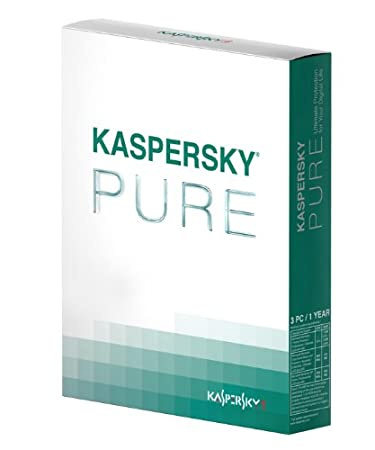 Kaspersky pure (3 postes, 1 an)