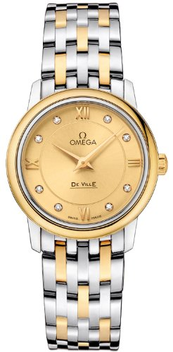 Omega Deville Prestige Quartz Ladies Watch 424.20.27.60.58.001