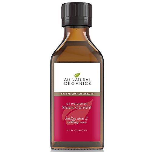 Au Natural Organics Black Currant Oil 3.4oz 100ml (Omega 3 6 Black Currant Oil compare prices)