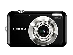 Fujifilm FinePix JV100 12 MP Digital Camera with 3x Optical Zoom and 2.7inch LCD (Black)