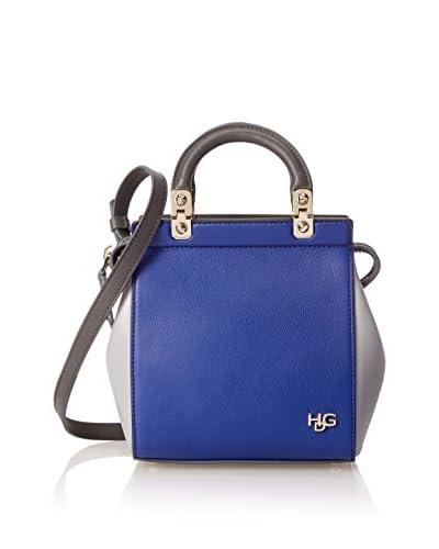 Givenchy Women's Hdg Mini Bag Tricolor Tote, Bright Blue