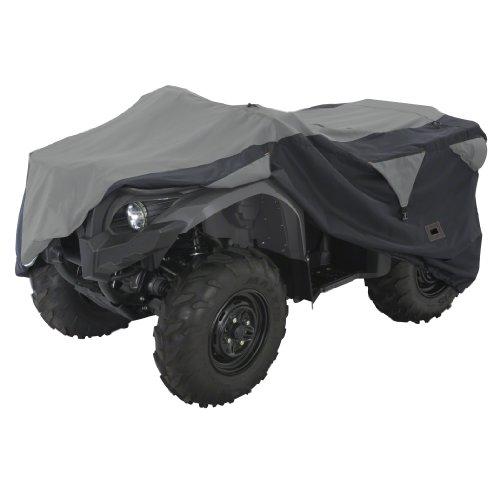 Classic Accessories 15-062-053804-00 Black/Grey X-Large Deluxe ATV Storage Cover (Polaris Atv Cover compare prices)
