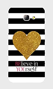 Back Cover for Samsung Galaxy A3 2016 Believe in yourself