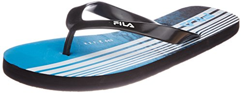 Fila Men's Grip Black and Blue  Flip Flops Thong Sandals -8 UK/India(42 EU)(9 US)  available at amazon for Rs.314