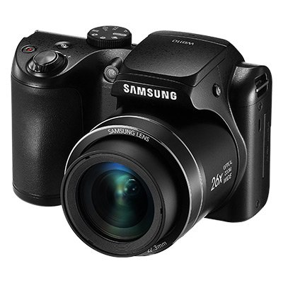 Samsung WB110 20.2 Digital Camera with 26.0x Optical Image Stabilized Zoom with 3.0-Inch TFT LCD Screen  (Black)
