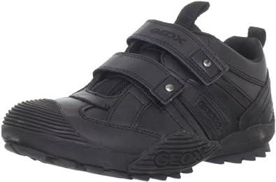 Geox Savage G, Boys Low-Top Sneakers, Black , 1 UK (33 EU)