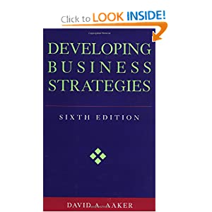 Developing Business Strategies, 6th Edition