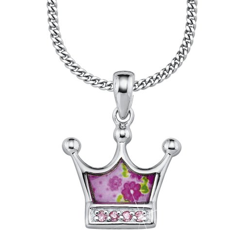 Prinzessin Lillifee 397094 Children's Claw Set  Cubic Zirconia 39.0 centimetres 4.33 grams Sterling Silver 925 Necklace