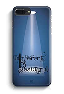 YuBingo Different is Beautiful Designer Mobile Case Back Cover for Apple iPhone 7 Plus