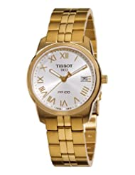 Tissot Men's T0494103303300 PR100 Silver Dial Watch