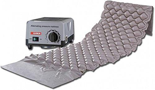 Kit antidecubito GIMA con materassino e compressore con regolazione