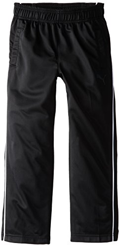 PUMA Little Boys' Pure Core Track Pant, PUMA Black, 7