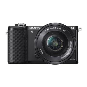 Sony Alpha a5000 20.1MP  Camera with 16-50mm OSS Lens (Black)