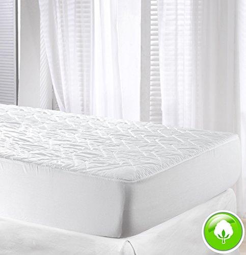 velfont gepolsterte matratzenauflage aus 100 baumwolle zum wenden verf gbar in. Black Bedroom Furniture Sets. Home Design Ideas